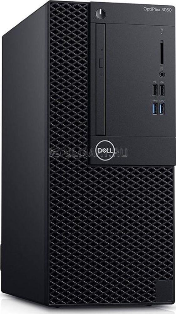 Системный блок Dell Optiplex 5060 МТ, 5060-4447, черный системный блок dell optiplex 5060 mt 5060 7625 черный