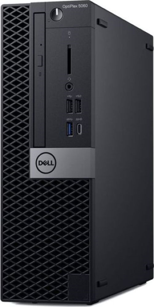 Системный блок Dell Optiplex 5060 SFF, 5060-7649, черный системный блок dell optiplex 5060 sff 5060 7656 черный