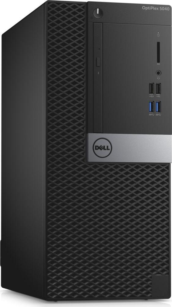 Системный блок Dell Optiplex 7060 МТ, 7060-7617, черный, серебристый системный блок dell optiplex 7050 mt 7050 4846 black silver