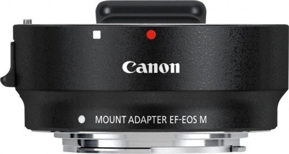 Адаптер для системных камер Canon EF-EOS M, черный зарядное устройство фотоаппарата canon lc e12e для eos m100