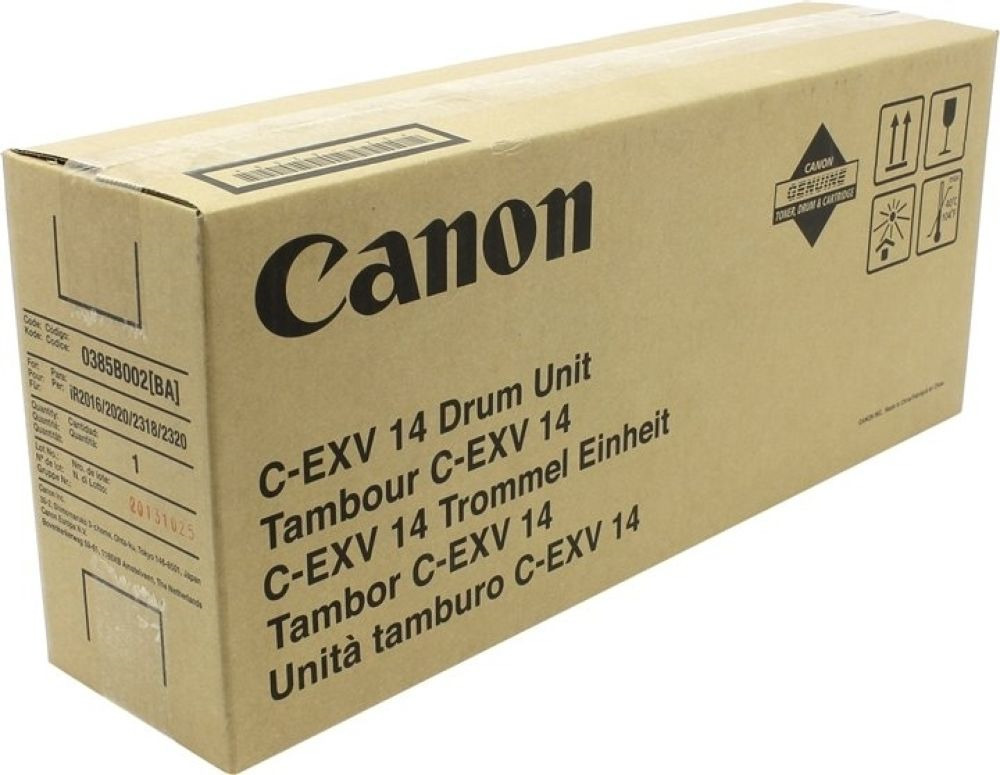 Блок фотобарабана Canon C-EXV14 0385B002BA 000 для iR2016/2020 Canon, black цена
