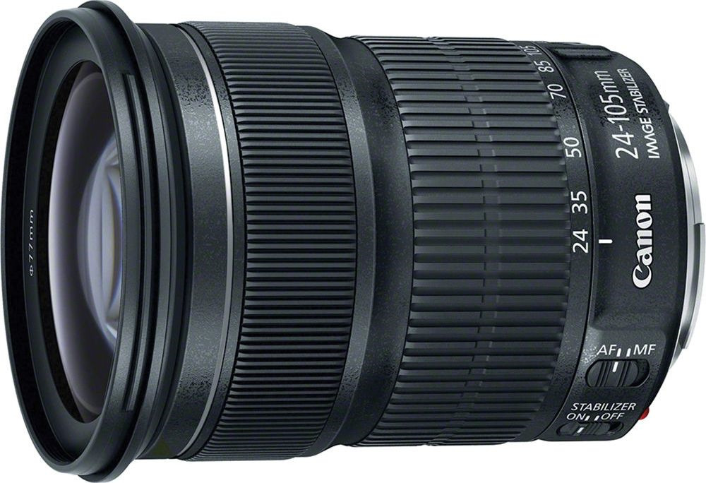 Объектив Canon EF 24-105 mm f/3.5-5.6 IS STM, черный