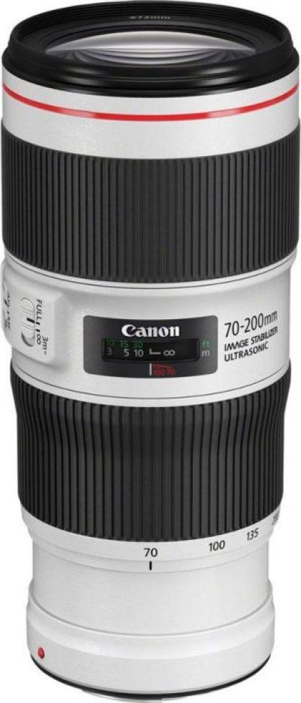 Объектив Canon EF70-200 mm f/4L IS II USM, черный