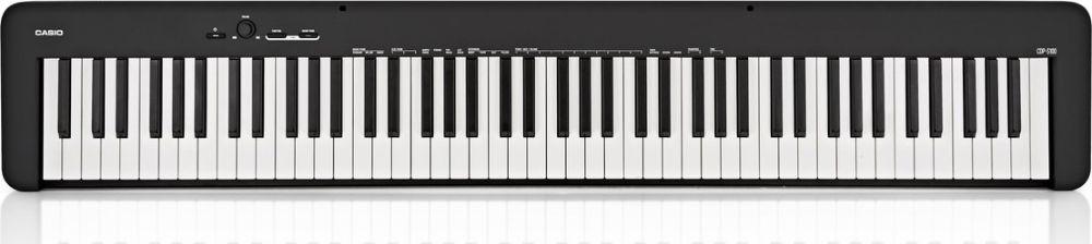 Цифровое фортепиано Casio, черный, CDP-S100BK синтезаторы и пианино casio cdp 230rbk