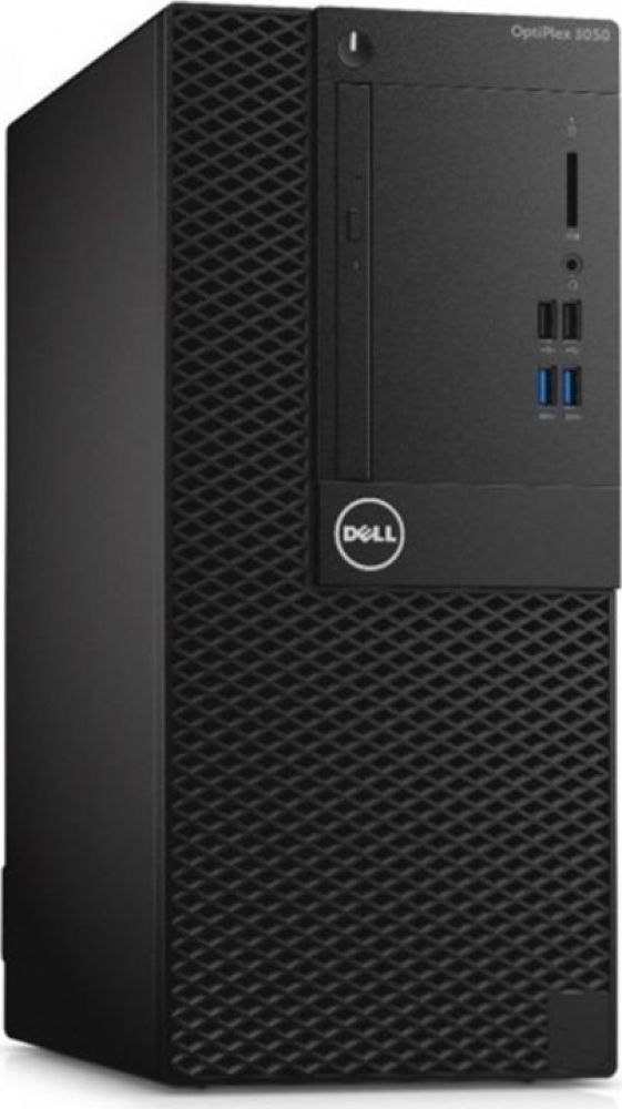 Системный блок Dell Optiplex 5060 МТ, 5060-7632, черный системный блок dell optiplex 5060 sff 5060 7656 черный