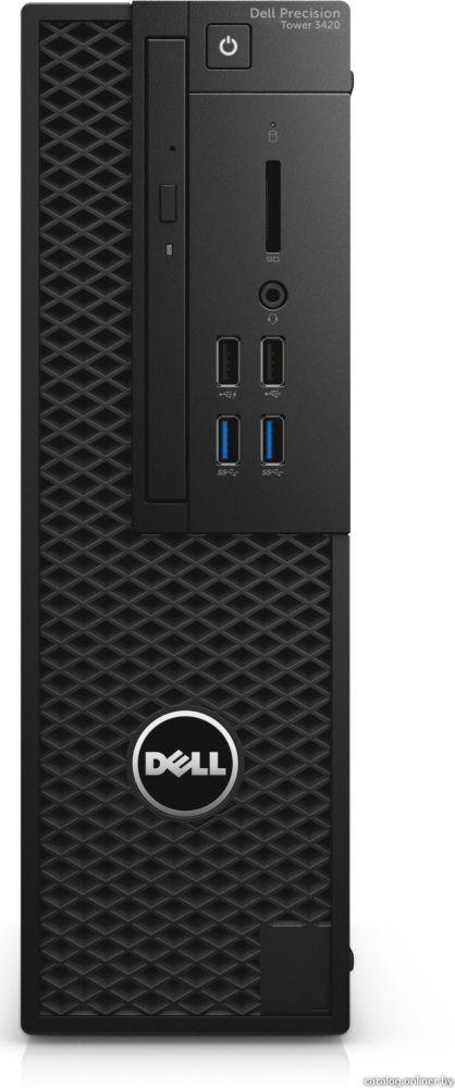 Системный блок Dell Precision 3420 SFF, 3420-4506, черный