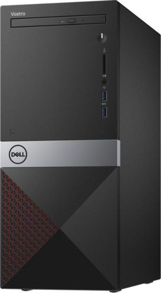 Системный блок Dell Vostro 3670 МТ, 3670-2974, черный