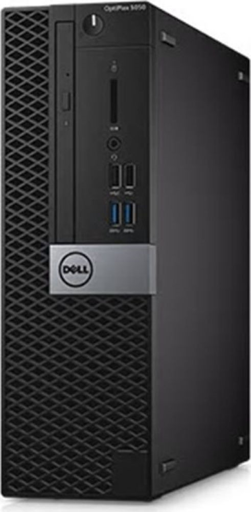 Системный блок Dell Optiplex 7060 МТ, 7060-6153, черный, серебристый системный блок dell optiplex 7050 mt 7050 4846 black silver