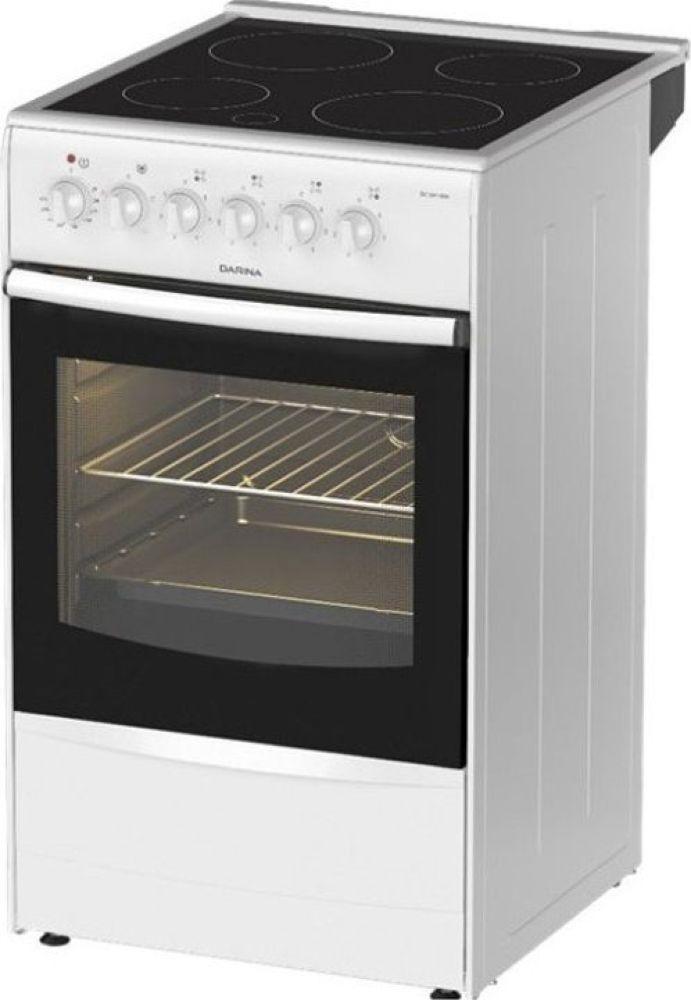 Плита Электрическая Darina B 3607 W белый/черный цена и фото