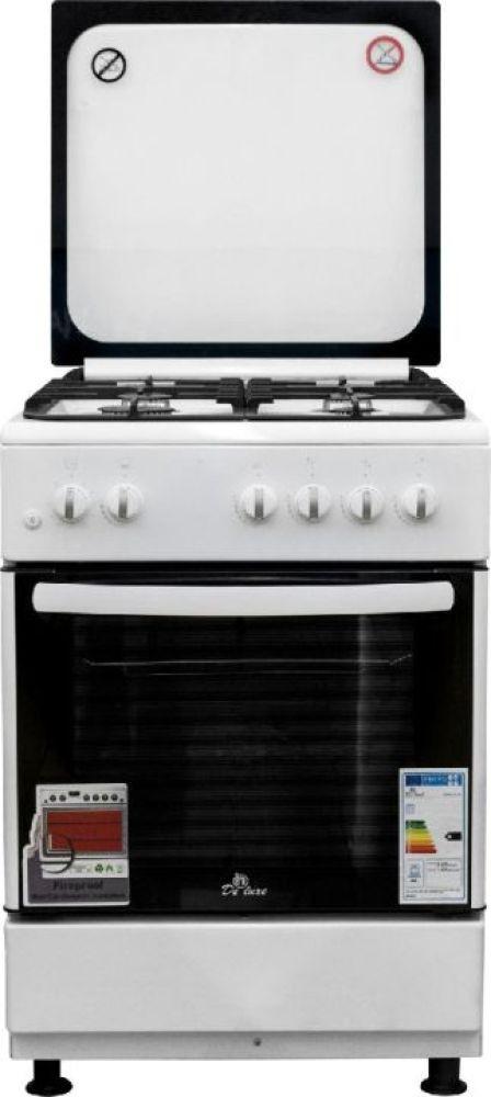 Плита Газовая De Luxe 606040.24-001г (кр) ЧР белый