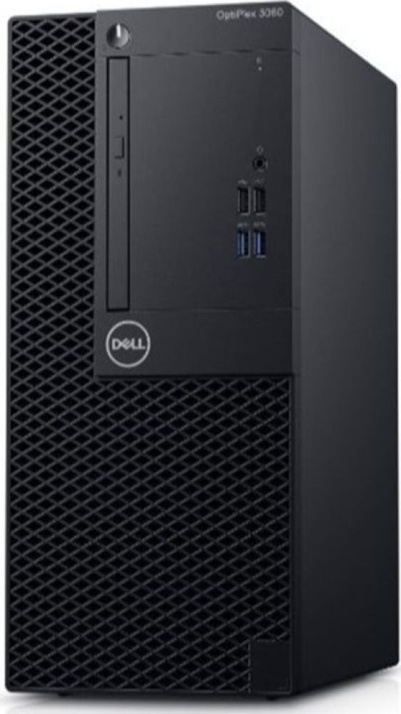 Системный блок Dell Optiplex 5060 Micro, 5060-7663, черный системный блок dell optiplex 5060 sff 5060 7656 черный