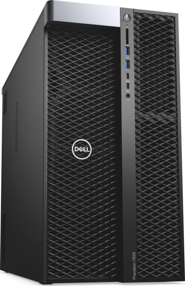 Системный блок Dell Precision T5820 MT, 5820-2707, черный системный блок