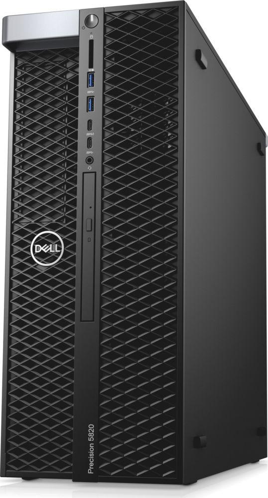 Системный блок Dell Precision T7820 MT, 7820-2769, черный компьютер dell precision t7820 silver 2x4110 32gb 2000gb hdd 256gb ssd win10pro 7820 2769