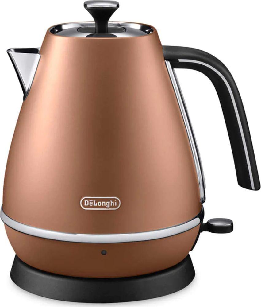 Чайник электрический Delonghi KBI2000.CP, 210100003, бронзовый