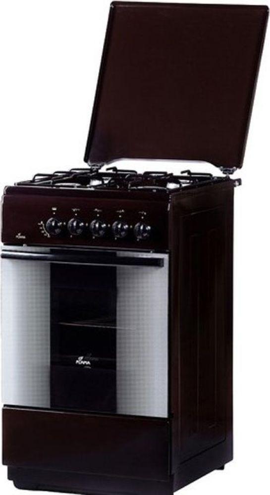 Плита Газовая Flama FG 2402 B коричневый
