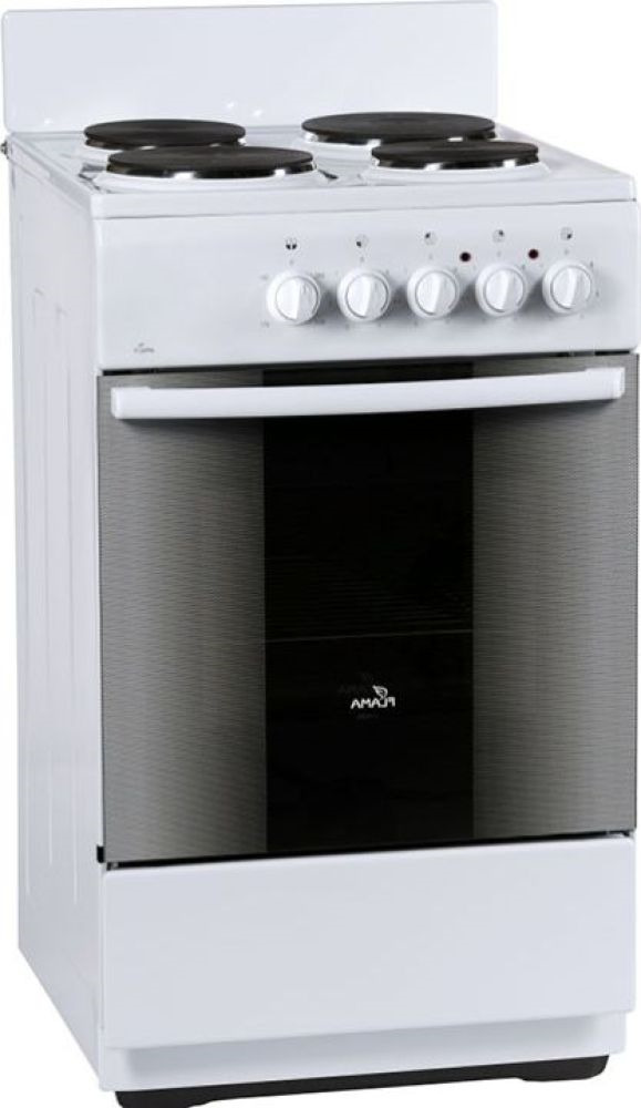 Плита Электрическая Flama FE 1402 W белый эмаль