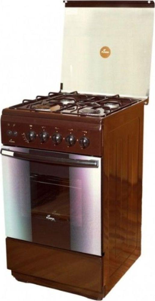 Плита Газовая Flama FG 2424 B коричневый