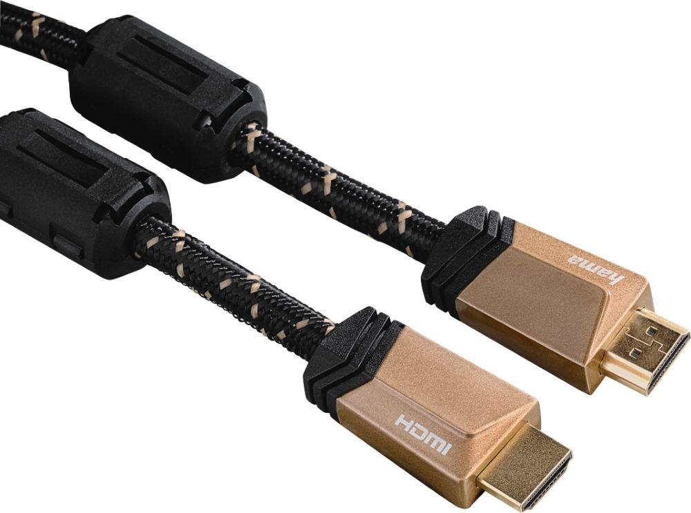 Фото - Кабель аудио-видео Hama HDMI (m)/HDMI (m), 3 м, 00122211, черный видео