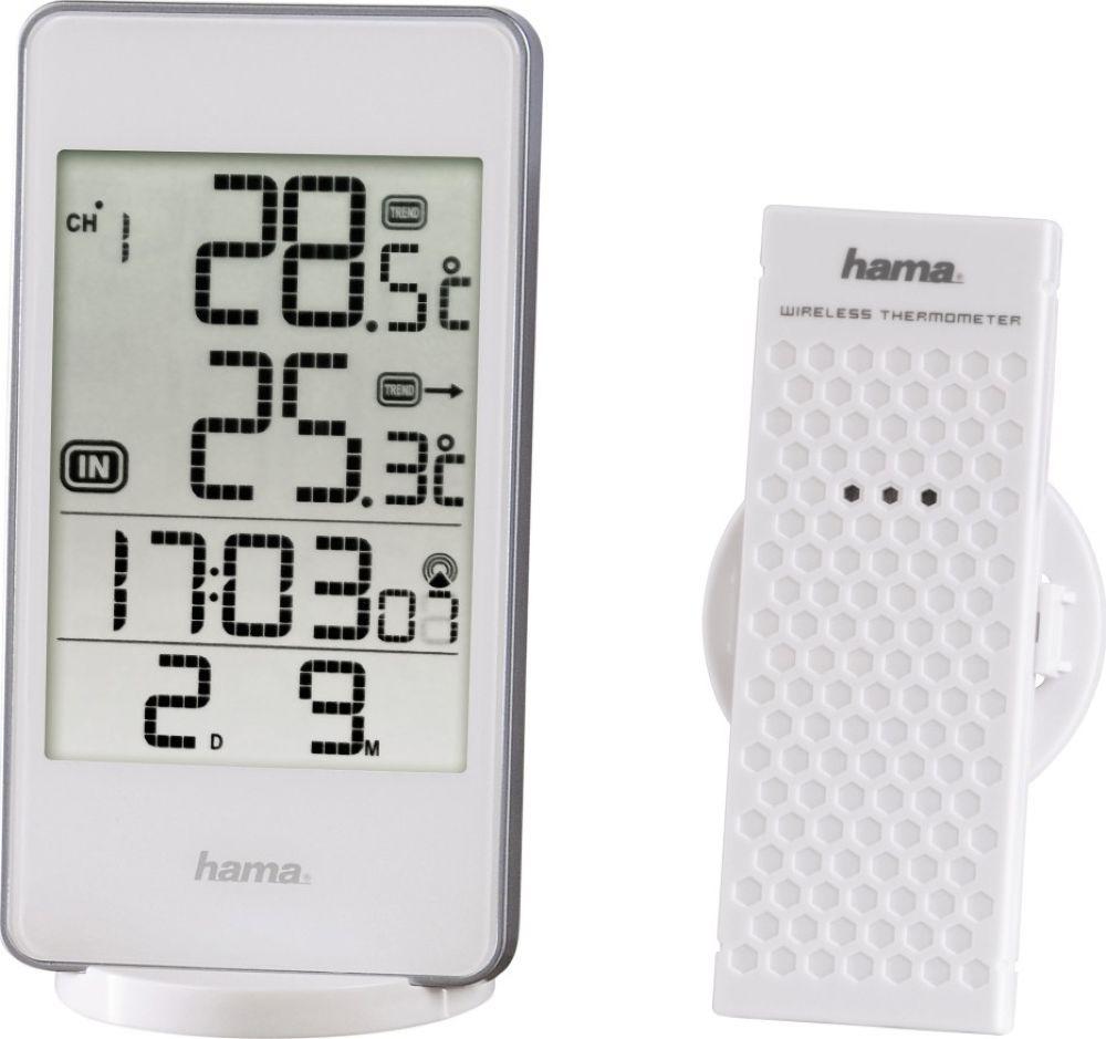 Погодная станция Hama EWS-840 белый, 00123123, белый