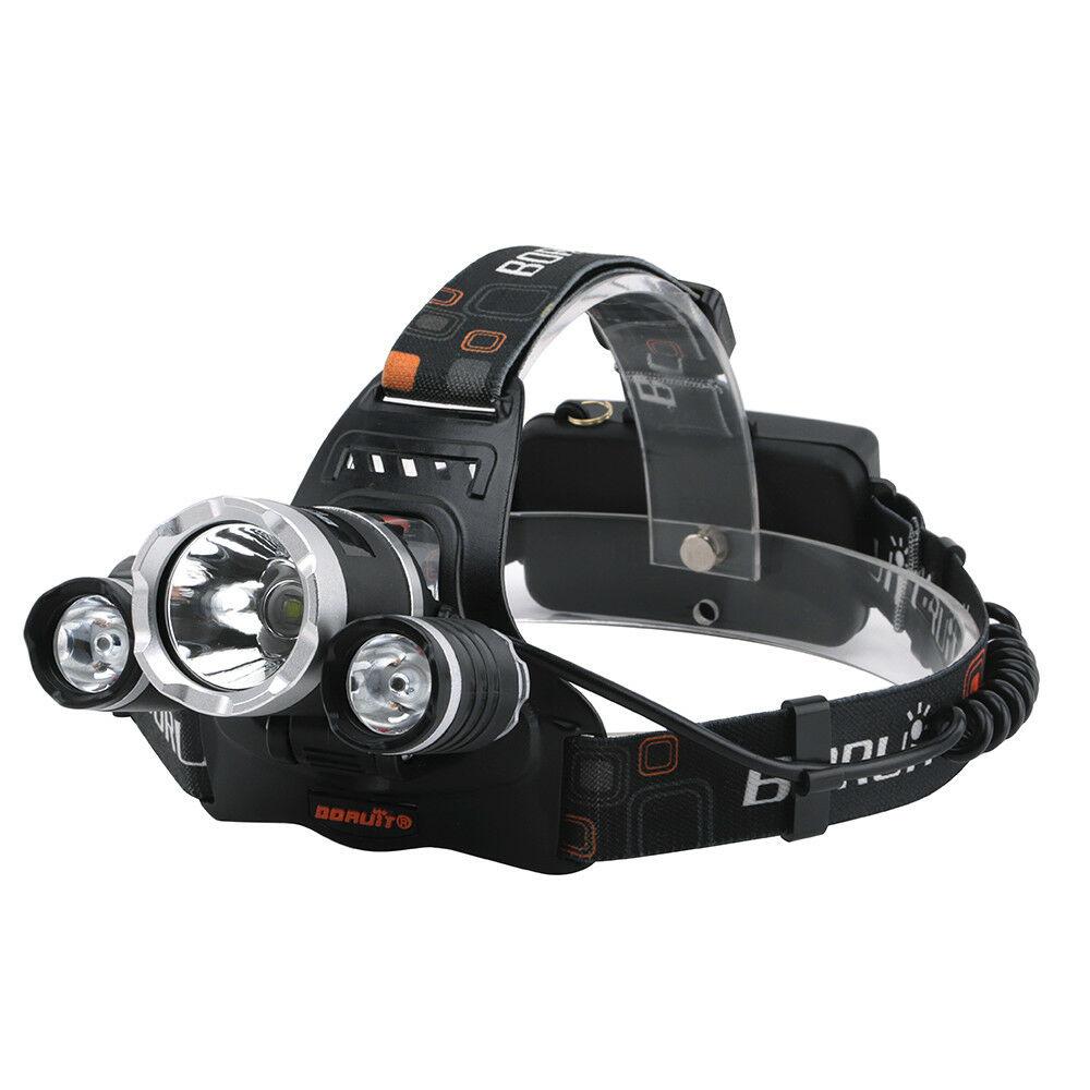 Налобный фонарь JESELVIP T6, черный