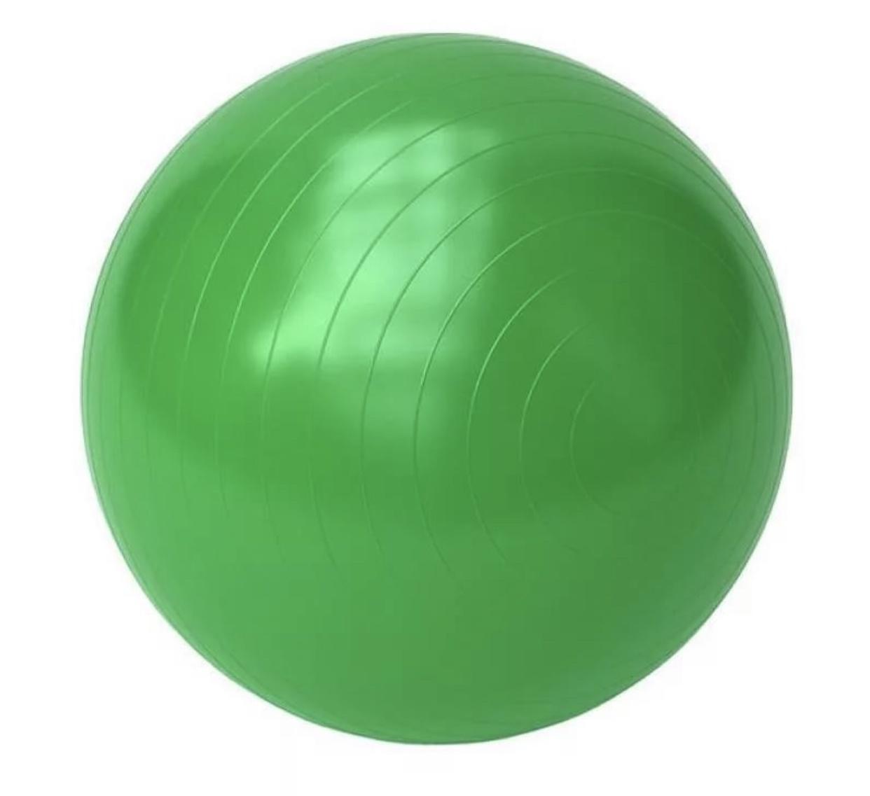 Мяч для фитнеса JESELVIP MDG-102, зеленый мяч гимнастический torneo цвет зеленый диаметр 55 см