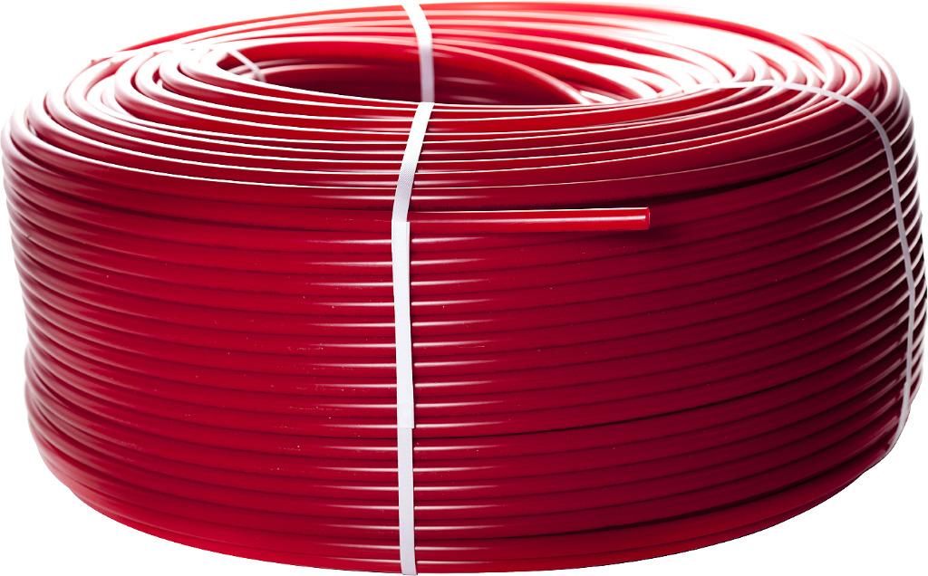 Труба полиэтиленовая PEX-a Stout, с кислородным слоем, 16х2,0, SPX-0002-001620, красный, 200 мSPX-0002-001620Трубы STOUT из сшитого полиэтилена с барьерным слоем PE-Xa/EVOH – современный материал в системах отопления и водоснабжения. Трубы STOUT износостойки и неприхотливы. Барьерный слой EVOH препятствует проникновению кислорода в систему трубопровода. Не подвержены действию коррозии. Внутренний слой труб устойчив к истиранию. Идеально гладкая внутренняя поверхность стенки не способствует отложению солей жесткости, накипи, окалины и т.д. Большое значение имеет экологичность труб STOUT, благодаря отсутствию токсичных и физиологически вредных выделений. Возможный шум от работающего оборудования не побеспокоит вас, т.к. трубы из сшитого полиэтилена (в отличие от металлических) обладают звукопоглощающими свойствами. Удельный вес сшитого полиэтилена ниже стали в 8 раз, поэтому вы также сэкономите затраты и силы при транспортировке и монтаже