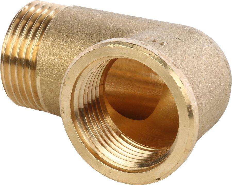 Угольник НВ Stout, 11/4, SFT-0011-000114, золотой набор фитингов для подключения насоса 1