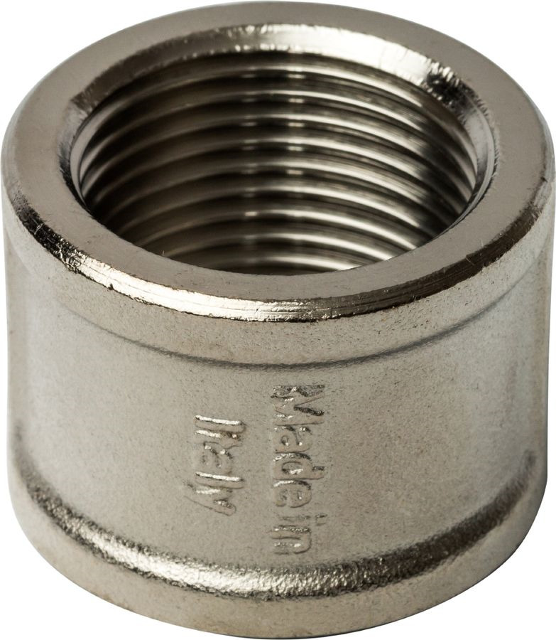 Муфта ВВ Stout, переходная никелированная 1/2х3/8, SFT-0006-001238, серый металлик муфта переходная mpf 1 2х3 8 вр