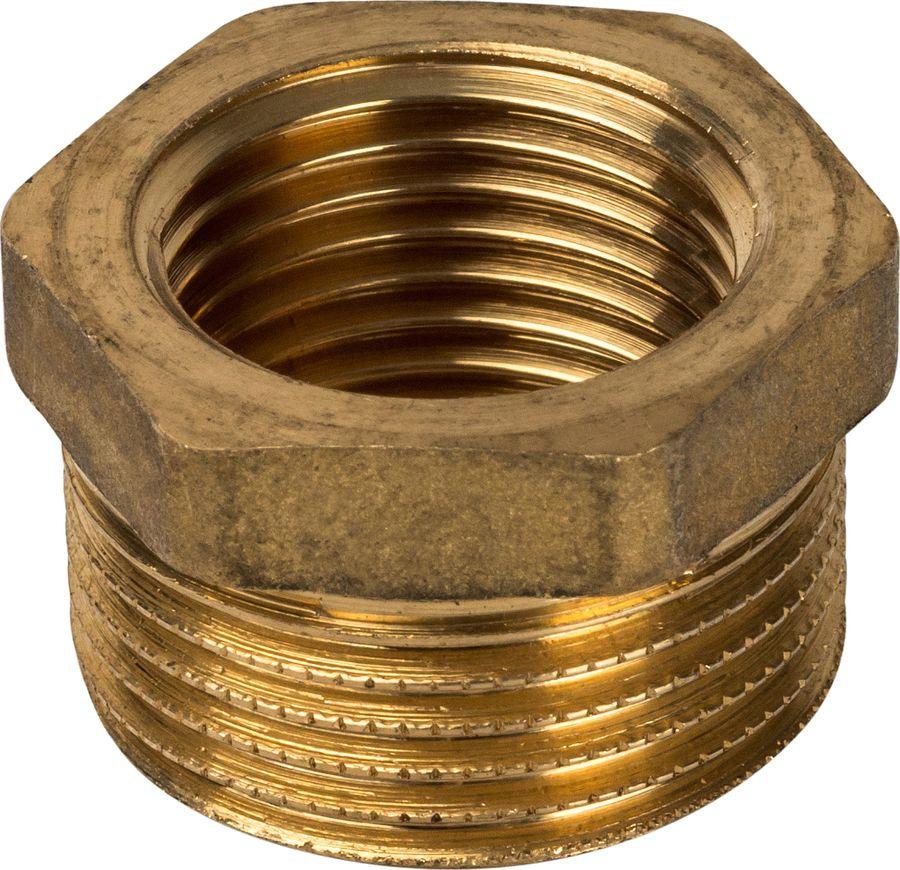 Футорка Stout, 11/4х1/2, SFT-0028-011412, золотой набор фитингов для подключения насоса 1