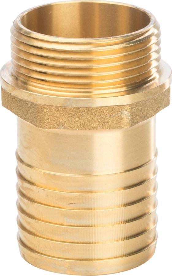 Штуцер НР Stout, 1х30, SFT-0035-000130, золотой