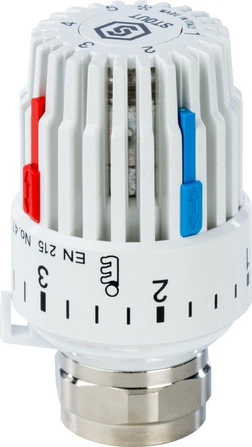 Головка термостатическая Stout, газовая M30x1,5, SHT 0001 003015, золотой цена в Москве и Питере