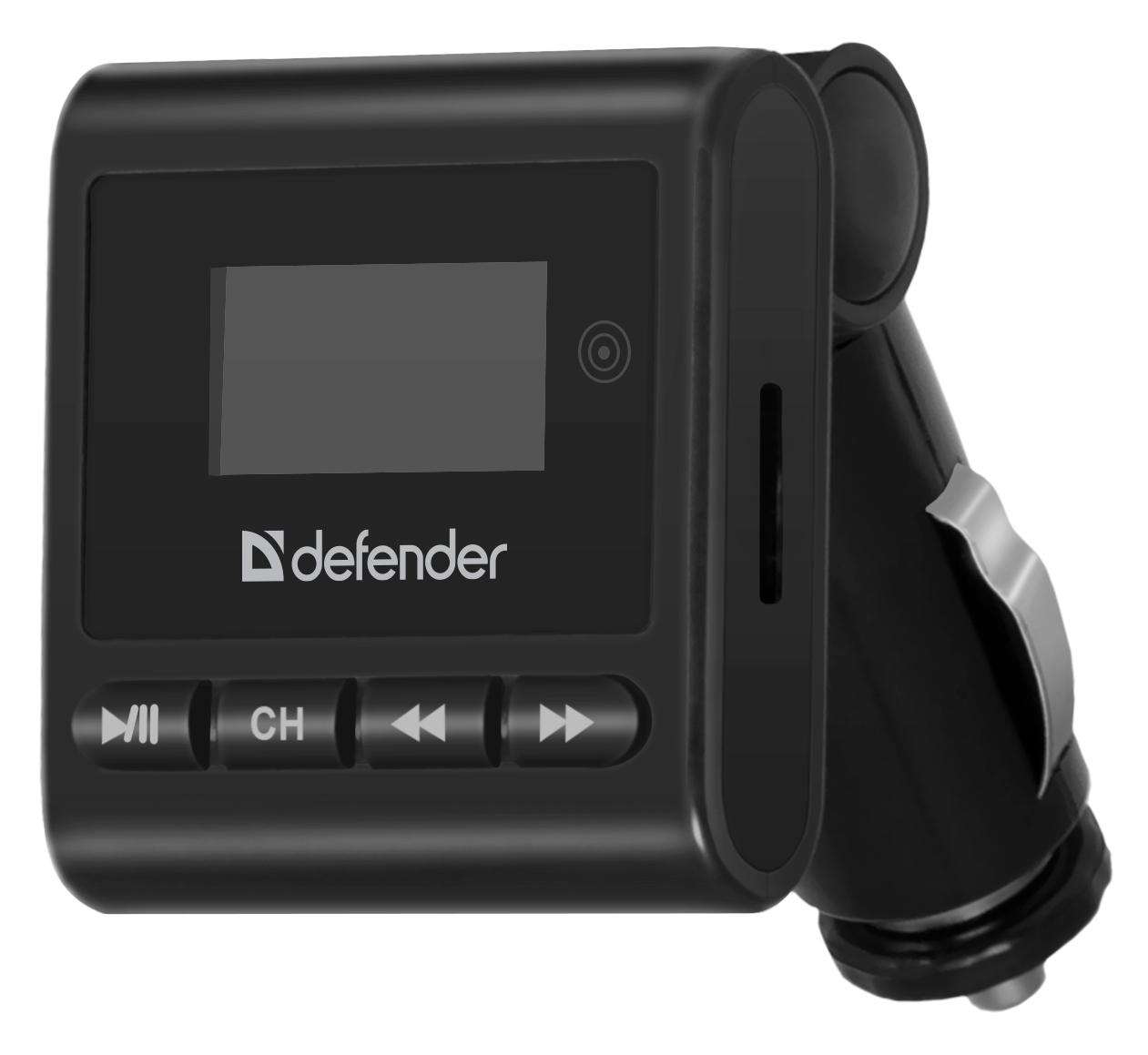 FM-модулятор/трансмиттер Defender RT-Basic, черный