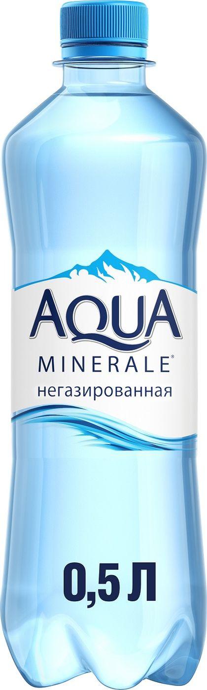 Вода Aqua Minerale, негазированная, питьевая, 500 мл
