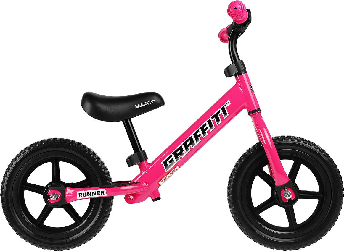 Беговел для девочки Graffiti Runner 2019, 3870169, розовый