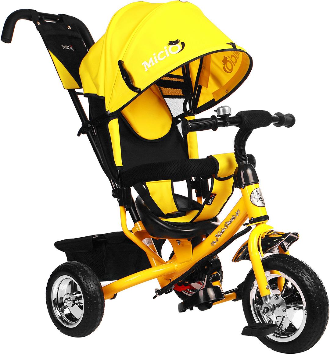 Велосипед трехколесный детский Micio Classic 2019, 3871479, желтый