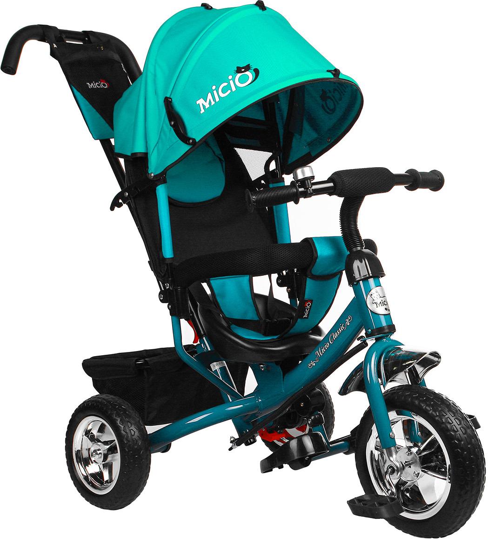 Велосипед трехколесный детский Micio Classic 2019, 3871480, бирюзовый3871480Чтобы ваш непоседа гармонично развивался и наполнял дни яркими эмоциями, присмотритесь к данному велосипеду. С ним ребенок разовьет ловкость и координацию движений, станет более решительным и самостоятельным. Родители оценят прочную конструкцию из металла, которая увеличит срок службы велосипеда.
