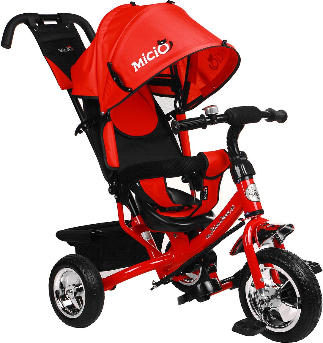 Велосипед трехколесный детский Micio Classic 2019, 3871481, красный3871481Чтобы ваш непоседа гармонично развивался и наполнял дни яркими эмоциями, присмотритесь к данному велосипеду. С ним ребенок разовьет ловкость и координацию движений, станет более решительным и самостоятельным. Родители оценят прочную конструкцию из металла, которая увеличит срок службы велосипеда.