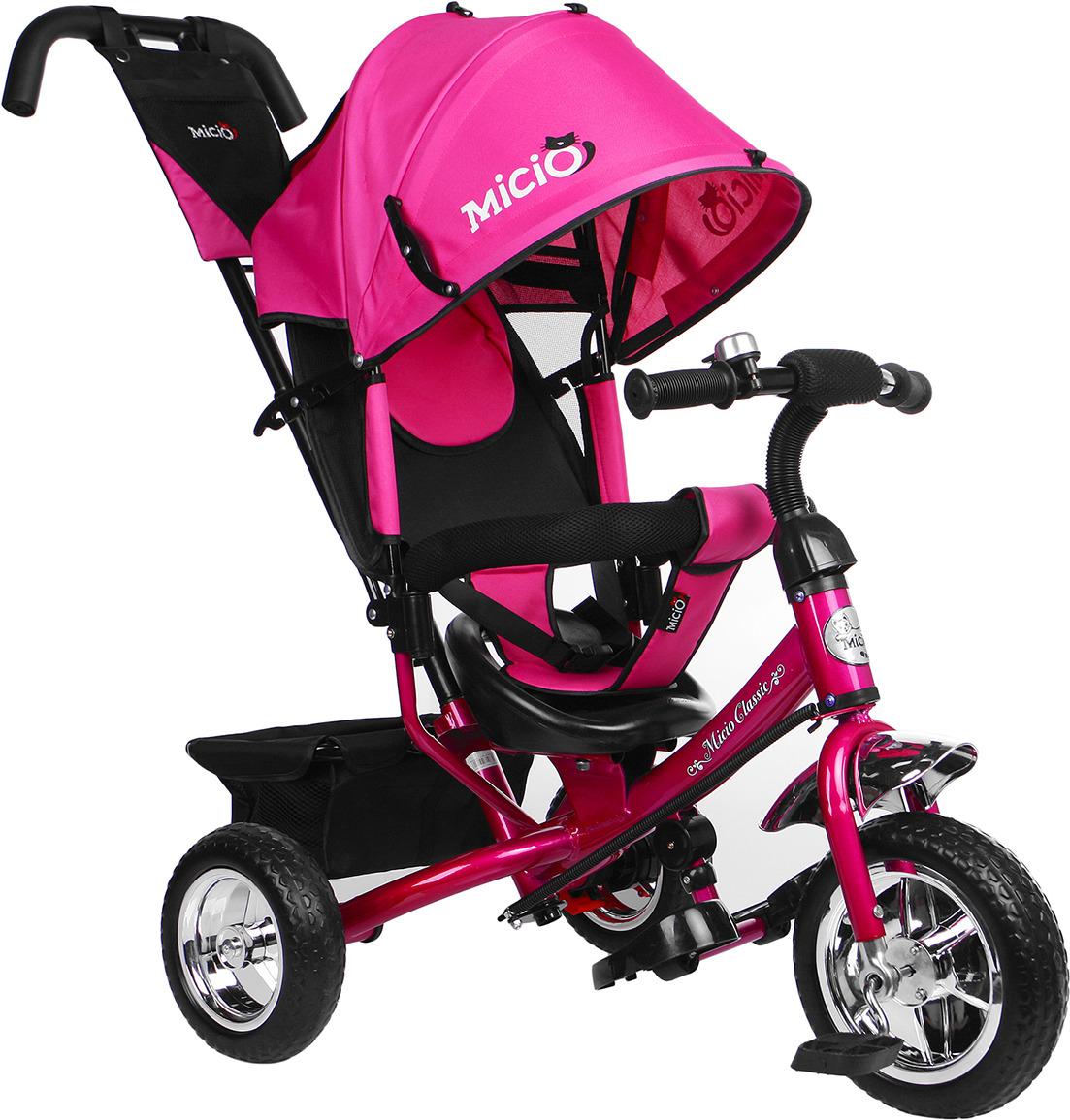 Велосипед трехколесный для девочки Micio Classic 2019, 3871483, розовый