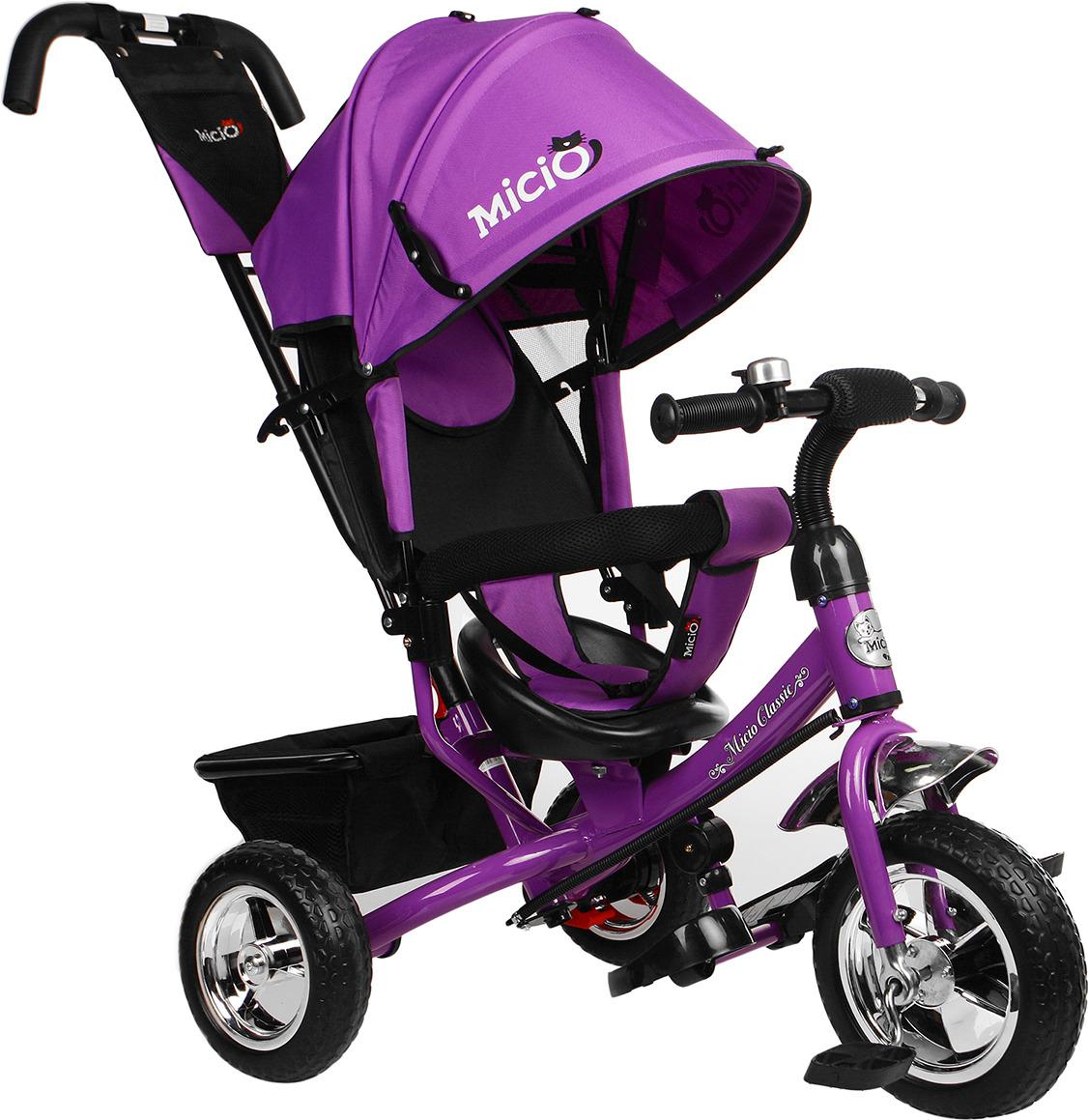 Велосипед трехколесный детский Micio Classic 2019, 3871484, фиолетовый