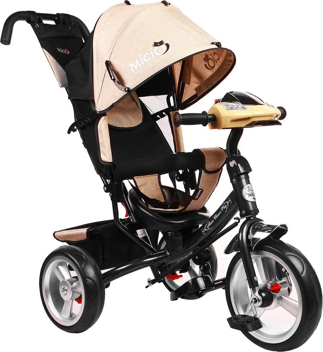Велосипед трехколесный детский Micio Classic Plus 2019, 3871485, бежевый