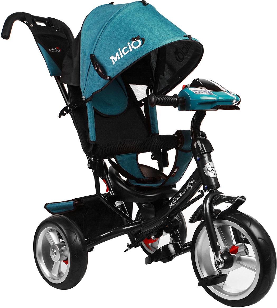 Велосипед трехколесный детский Micio Classic Plus 2019, 3871486, темно-зеленый