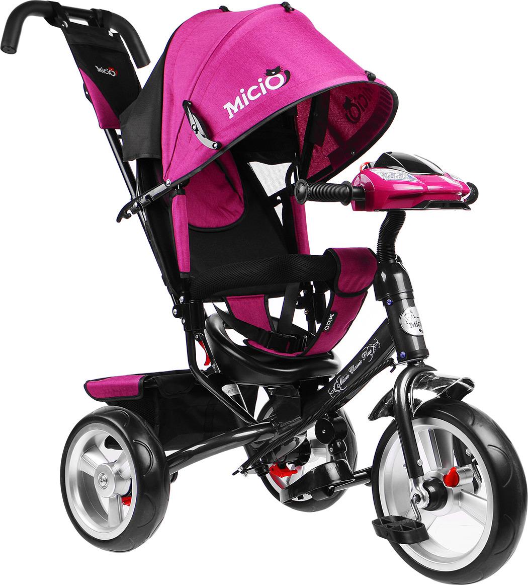 Велосипед трехколесный детский Micio Classic Plus 2019, 3871487, сливовый
