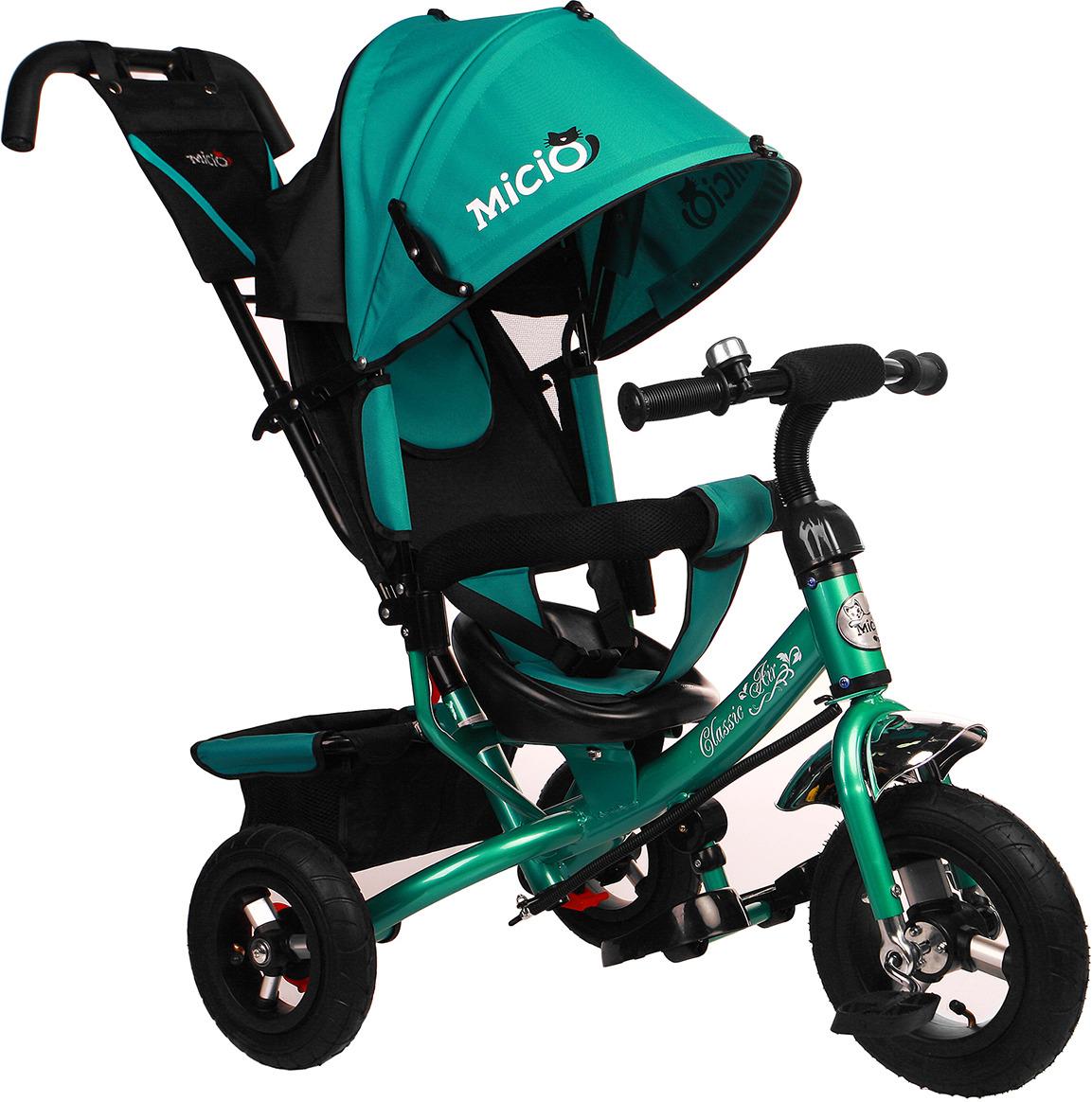 Велосипед трехколесный детский Micio Classic Air 2019, 3871489, бирюзовый
