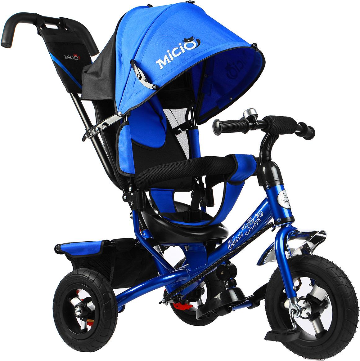 Велосипед трехколесный детский Micio Classic Air 2019, 3871491, синий