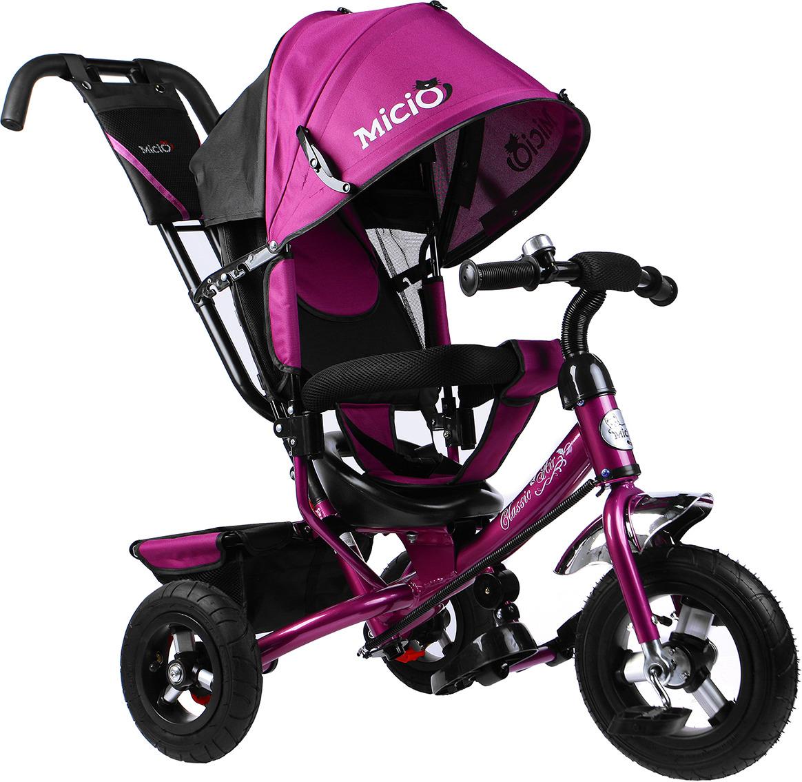Велосипед трехколесный детский Micio Classic Air 2019, 3871492, сливовый