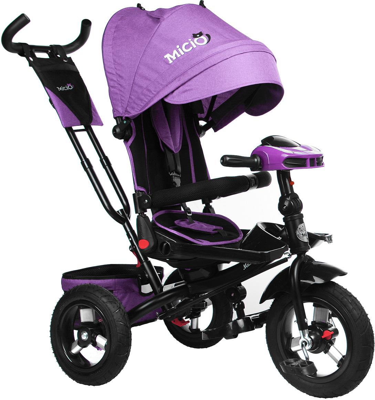 Велосипед трехколесный детский Micio Comfort Plus 2019, 3871494, сиреневый