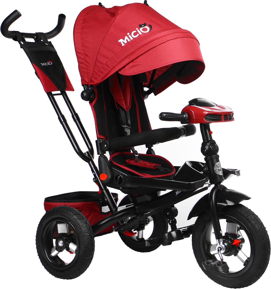Велосипед трехколесный детский Micio Comfort Plus 2019, 3871495, красный