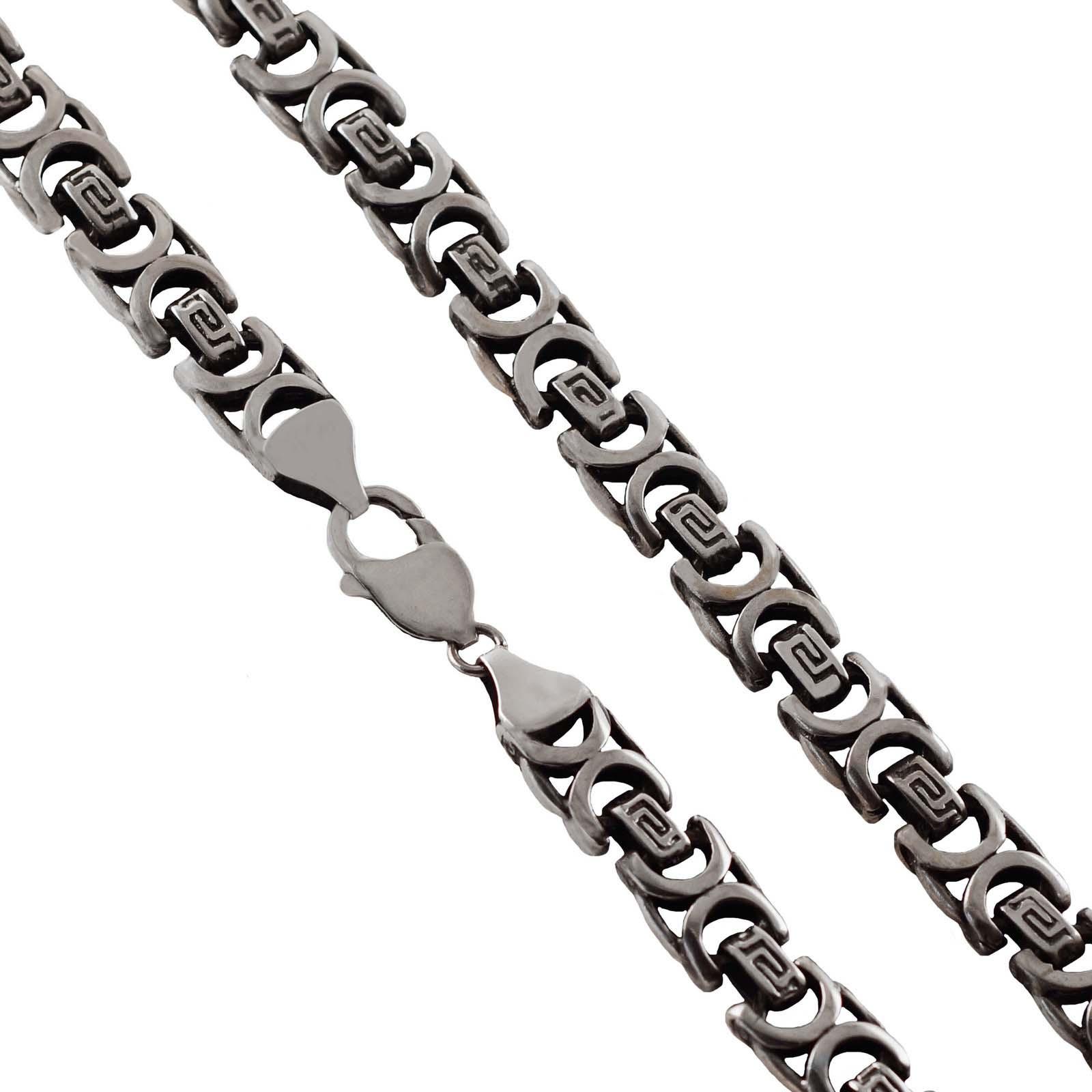 Цепь Диадема, серебро 925, 60 см, CH-312СереброЭто фантазийное плетение комфортно в повседневной носке, очень прочное. Смотрится поистине благородно и привлекает всеобщее внимание. Ширина плетения 10 мм. Покрытие - оксидирование. Надёжная застёжка карабин с запаянным соединительным кольцом.