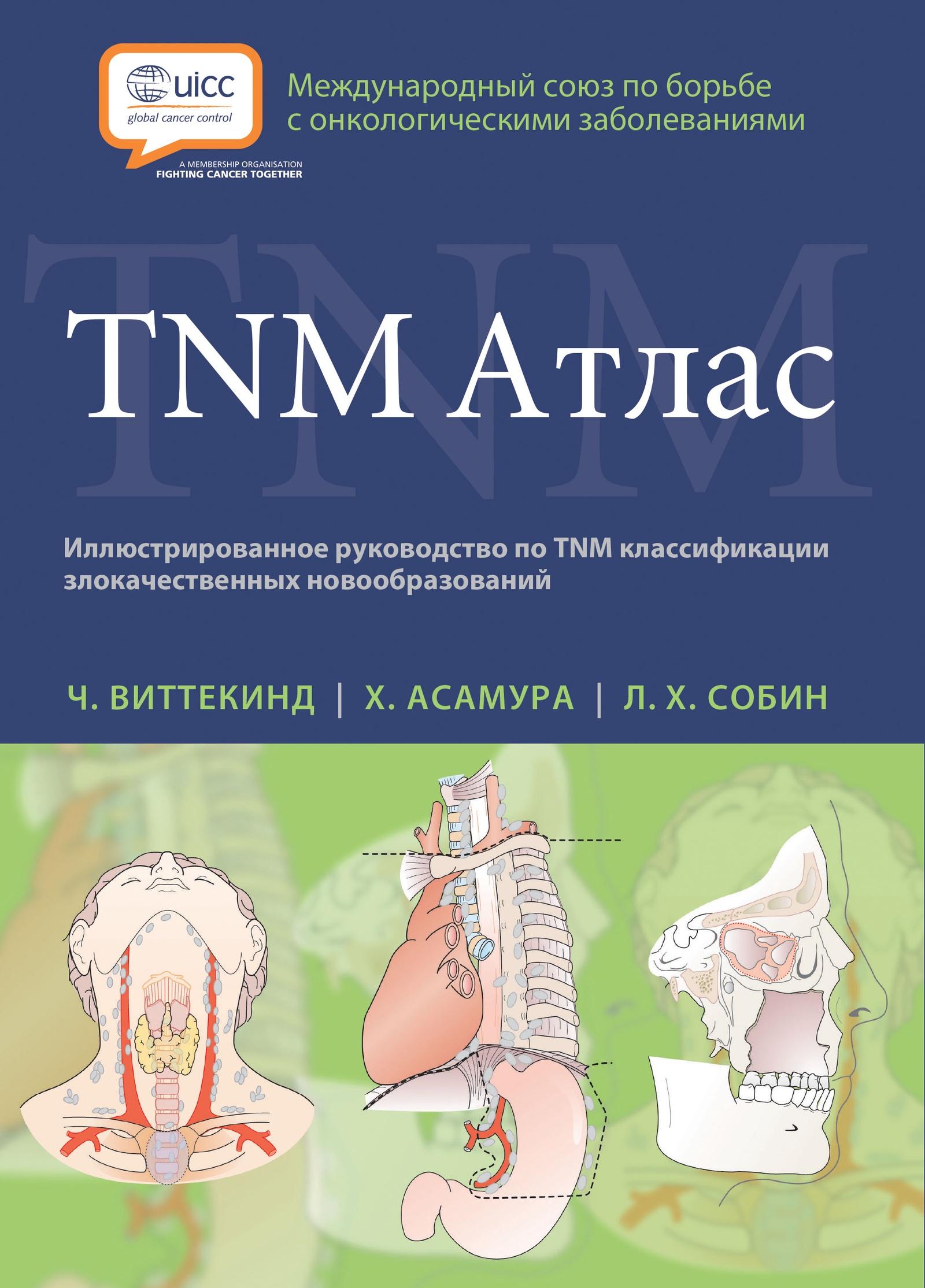 Виттекинд Ч., Асамура Х. , Собин Л. Х. TNM Атлас. Иллюстрированное руководство по TNM классификации недорго, оригинальная цена