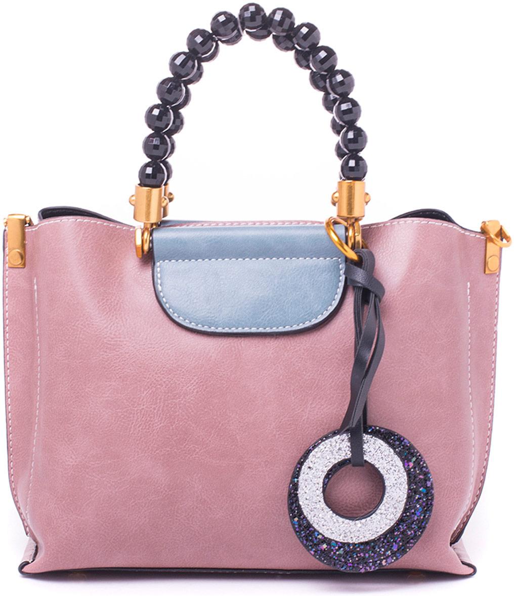 Сумка женская Baggini, 28964-3/63/42, розовый, голубой недорго, оригинальная цена
